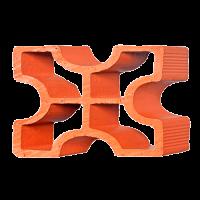 Elemento Vazado Cerâmico Diagonal Cruz