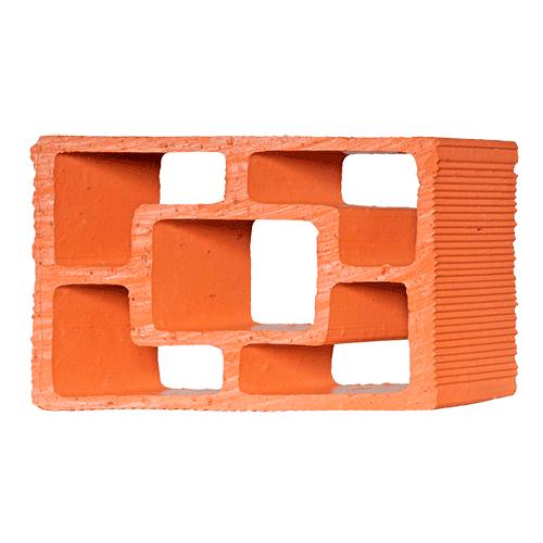 Elemento Vazado Cerâmico Diagonal Quadrado