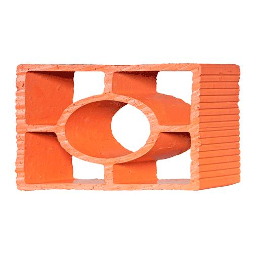 Elemento Vazado Cerâmico Diagonal Redondo