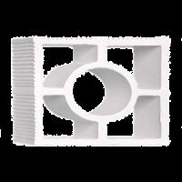 Elemento Vazado Impermeabilizado Branco