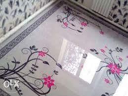 Porcelanato Líquido Desenhado Arabesco Rosa