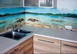 Porcelanato Líquido Desenhado Praia Bancada