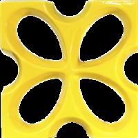 Cobogós Elementos Vazados Esmaltados Modelo Borboleta